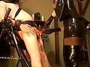 Helpless Slave Gets Trained By Prostitute Blonde Mistress