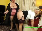 Busty Lesbo schoolmistress with a hairy pot